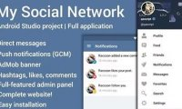 My Social Network 2.3 - скрипт социальной сети