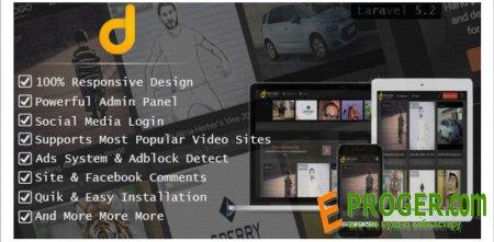Darky v1.2.1 - скрипт мультимедийного сайта