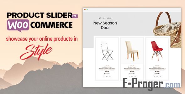 Product Slider For WooCommerce v1.0.8 – слайдер и карусель продуктов для WooCommece