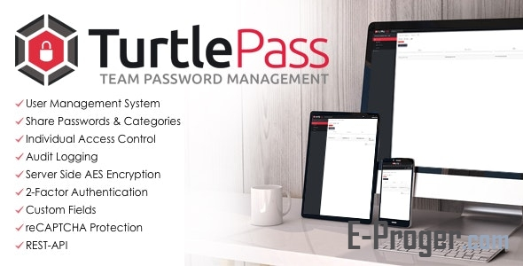 TurtlePass - менеджер паролей v1.4